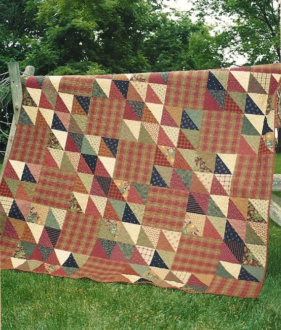 Primitive Folk Art Quilt Pattern Best Of All : 315 best images about Country Threads quilts on Pinterest