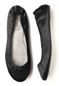 Black Ballet Shoes - Perfect for Bridesmaids - Available in Over 20 Colors! - Bridal Ballet Flats and Slippers - Wedding Ballet Flats