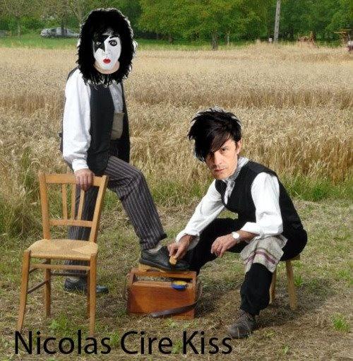 Nicolas cire Kiss xD