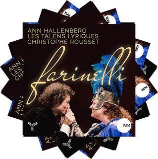 Ann Hallenberg Farinelli  Les Talens Lyriques dir. Christophe Rousset  Aparté, 2016