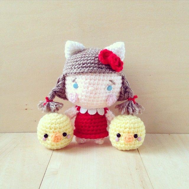 230 best kitty images on Pinterest   Patrones amigurumi, Artesanía ...