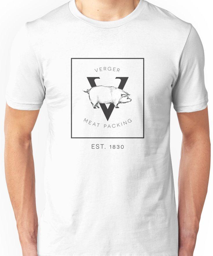 Verger Meat Packing  Unisex T-Shirt