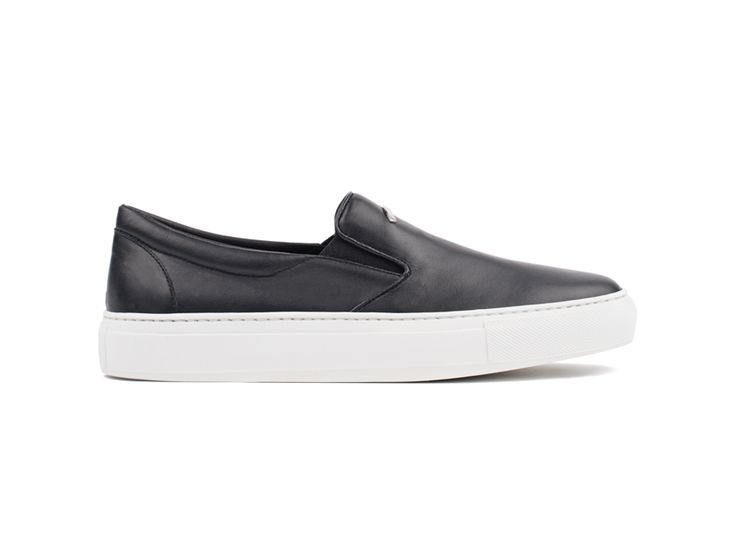 Slip On 01 Leather Black