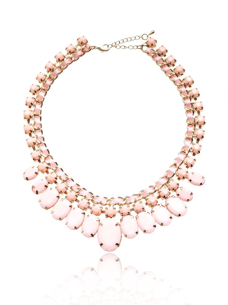 Coloured Candy – Roze Statement Ketting