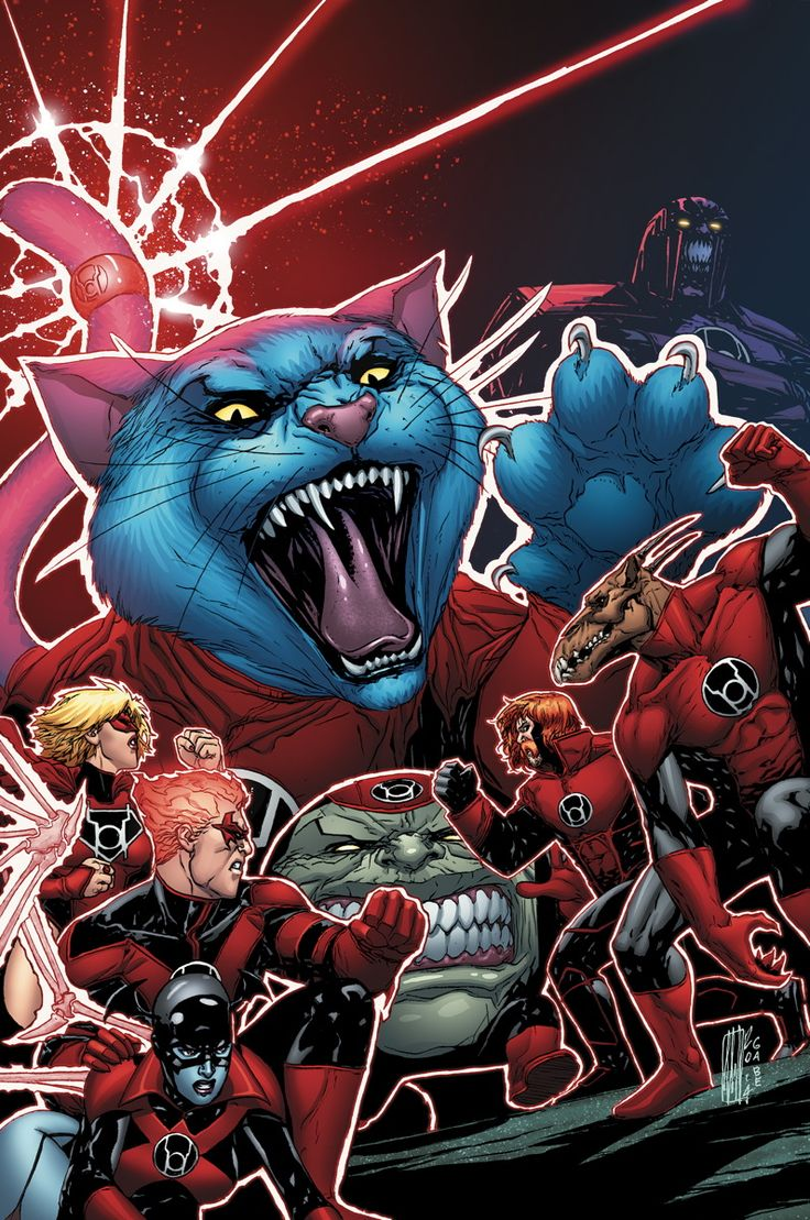 RED LANTERNS #30 Written by CHARLES SOULE Art and cover by ALESSANDRO VITTI On sale APRIL 23 • 32 pg