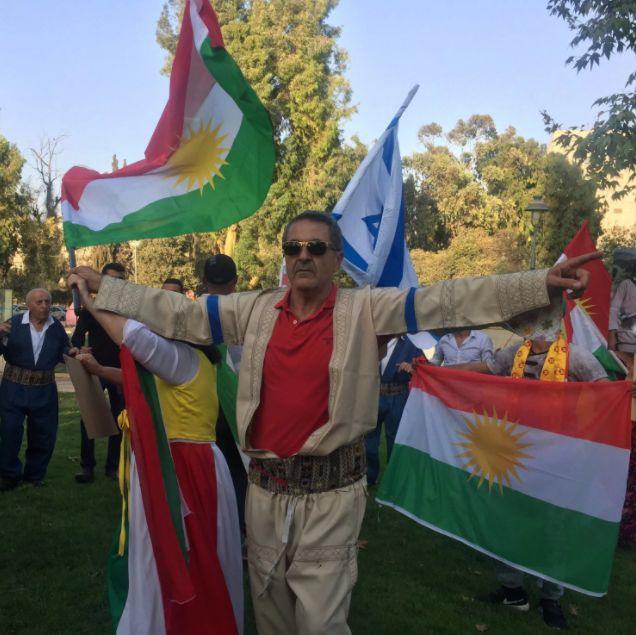 #Kurds say they have no friends but the mountains.  Now they have #Israel, and that could cause them grief. ------- ➡ https://www.washingtonpost.com/news/worldviews/wp/2017/09/25/kurds-say-they-have-no-friends-but-the-mountains-now-they-have-israel-and-that-could-cause-them-grief/?utm_term=.b07559977d6d http://www.haaretz.com/middle-east-news/1.813823 ------- #Photo: Kurdish Jews rally in Jerusalem, Sept. 24, 2017, in support of Iraqi Kurdistan's referendum on independence. (Photo by Loveday…