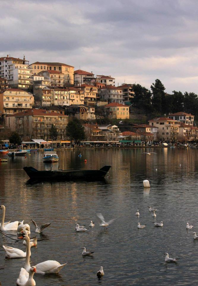 City by the lake... The beautiful Kastoria in Northern Greece