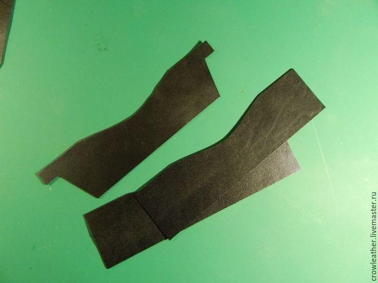 натуральная кожаСоздаем бумажник на молнии