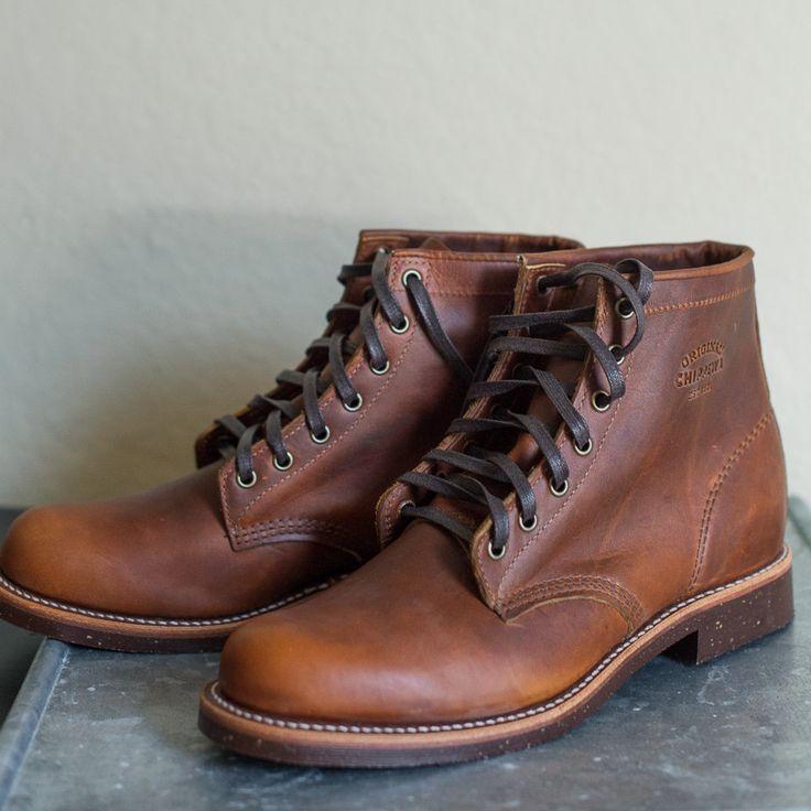 "Chippewa 6"" Service Boot, Tan"