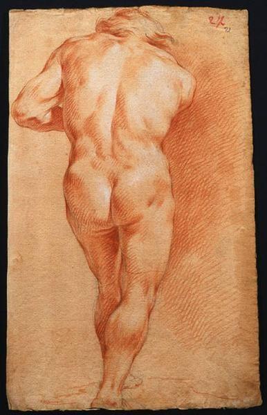 Ligari Giovanni Pietro (1686/ 1752) - Figura maschile
