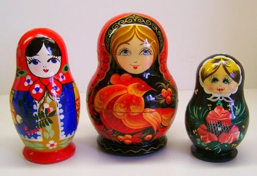 This is human geography because its traditional Russian dolls