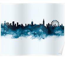 London Skyline  #london #england #britain #unitedkingdom #europe #skyline #cityscape #landscape #poster #home #office #wall #decor #art #print #gift #ideas #shopping #watercolor #abstract #minimalist #urban #architecture