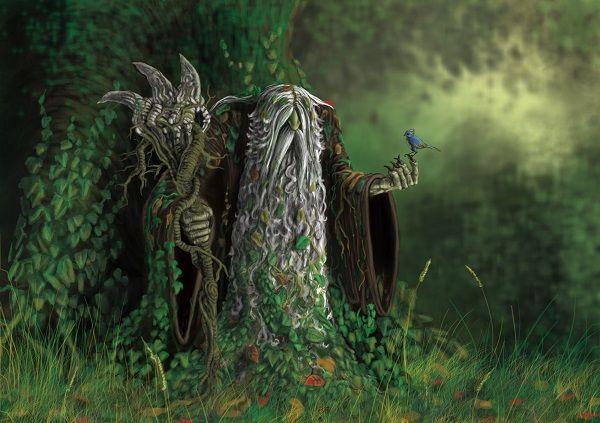 Türk Mitolojisinde Arcura-  Arçuri veya Arçuray. Çuvaş'larda şeytani orman cini. Yerleri süpüren saçları, kıllarla kaplı vücuduyla kara görünümlü bir şey. İkisi önde ikisi arkada dört kızıl gözü, üç kolu ve üç bacağı var.  Ak sakallı bir adam, yakışıklı bir genç, yayınbalığı, kuş, keçi vs. olabiliyor ve insanları gıdıklamak suretiyle gülmekten çatlatarak öldürdüğü söyleniyor. Kahkahalar atarak ve tokat şaklaması gibi konuşarak kurbanlarını avlıyor.