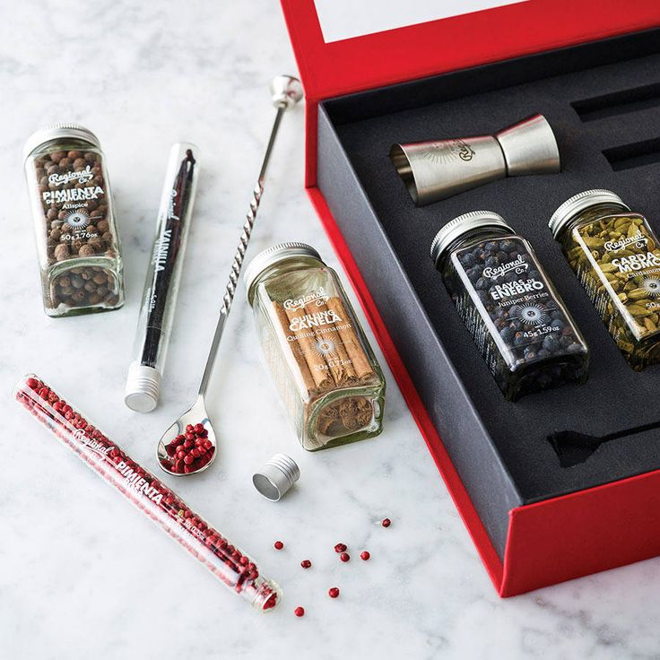 Gin And Tonic Botanicals Box. The Gin and Tonic revolution is upon us and nowhere more than in Spain where there is a passion for creating the perfect gin and tonic. Adding key botanicals to transform the flavour is a typical 'event' in any Spanish bar.
