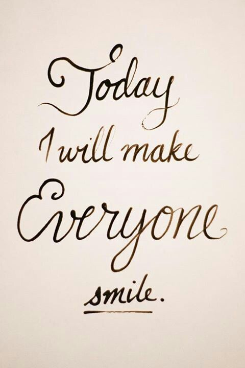 Set a goal to make everyone you come in contact with smile because of something you do. http://letloveliveco.com