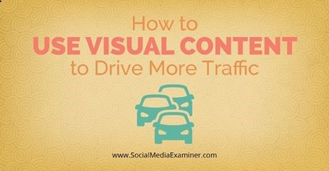 Click to see three creative examples from businesses that used visual content to drive traffic and get results. | Social Media Examiner