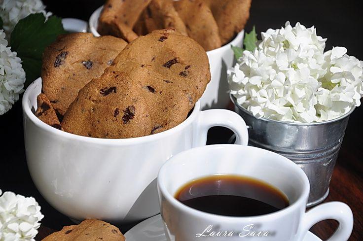Fursecuri cu cafea si ciocolata neagra
