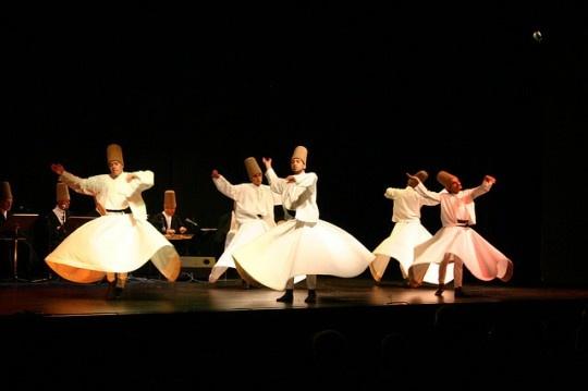 Whirling Dervishes - Mevlana Festival, Turkey