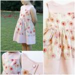SIZE 3 Pink Audrey Dress