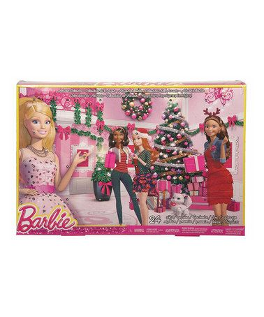 Love this Barbie Advent Calendar by Barbie on #zulily! #zulilyfinds