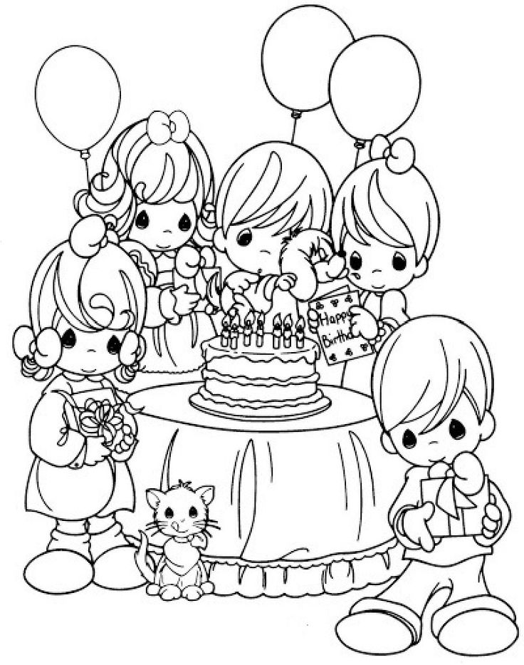 25 best Birthday images on Pinterest  Colouring Patterns and