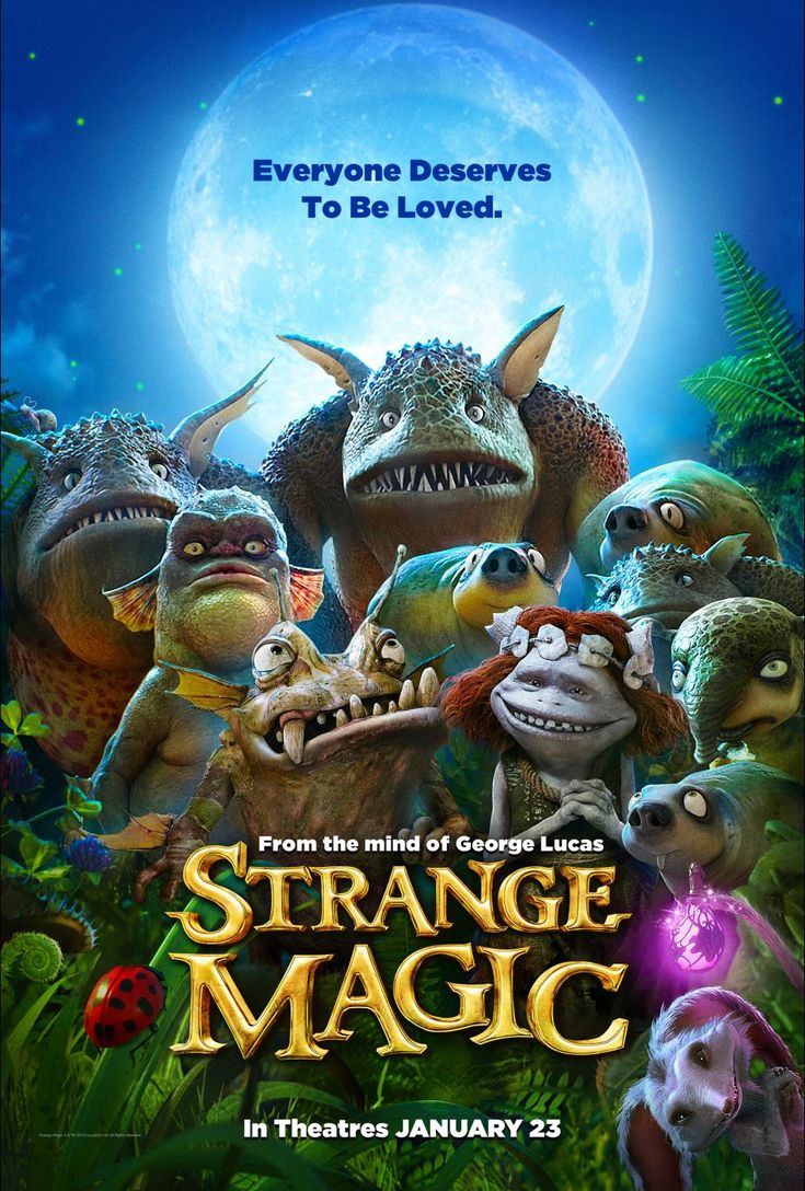 The new film from Touchstone Pictures - Strange Magic - is coming to theaters January 23rd 2015! Check out the new poster and trailer!