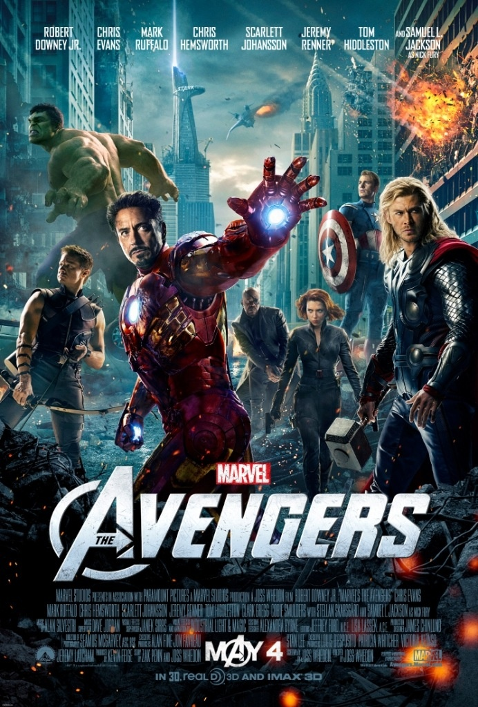 The Avengers was filmed in locations around Cleveland. The city's Public Square was one location featured!