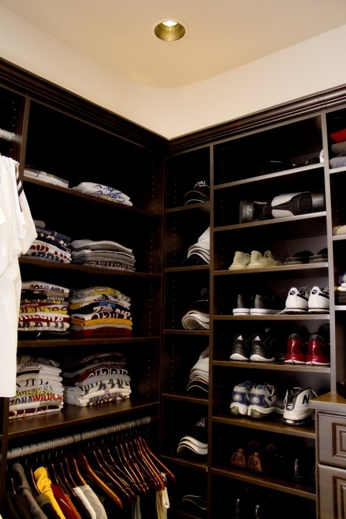 Great men's closet!