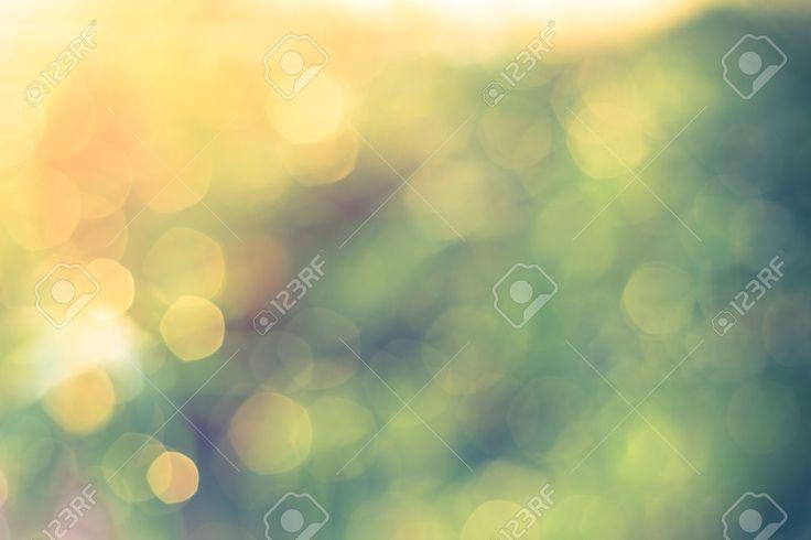Odaklanmamış Bokeh, Pırıltı ışıklar Bağbozumu Bulanık Bokeh Soyut ...