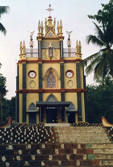 Beautiful Church in Kerala