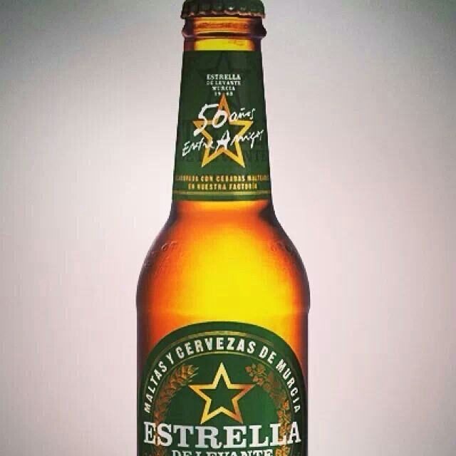 Estrella Levante cerveza Murcia