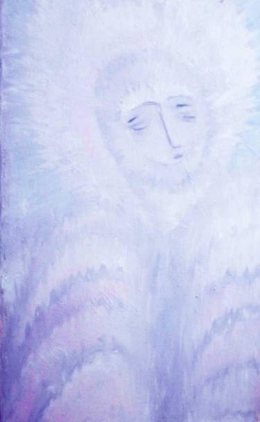 "Saatchi Art Artist ageliki baka; Painting, ""Beholding the World - Angel Sight"" #art"