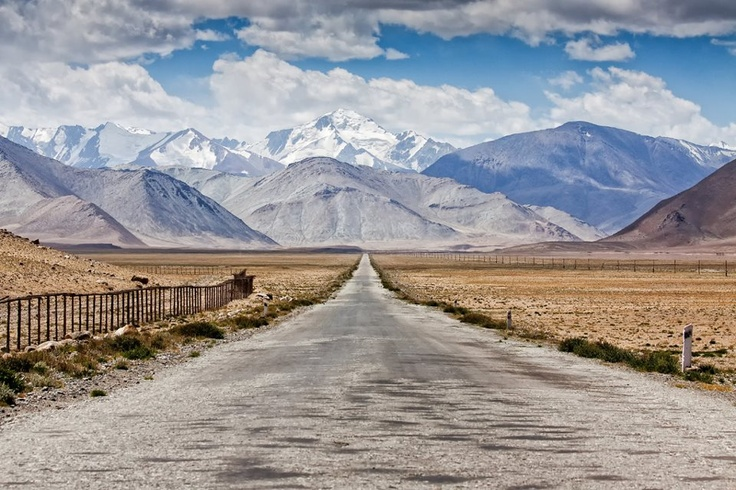 Along the Pamir Highway... Tadschikistan  pic: Daniel Kreher