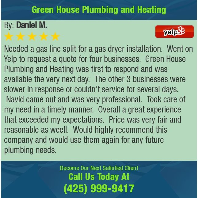 Needed A Gas Line Split For A Gas Dryer Installation Went On Yelp To Request A Quote Gas Dryer Plumbing Installation