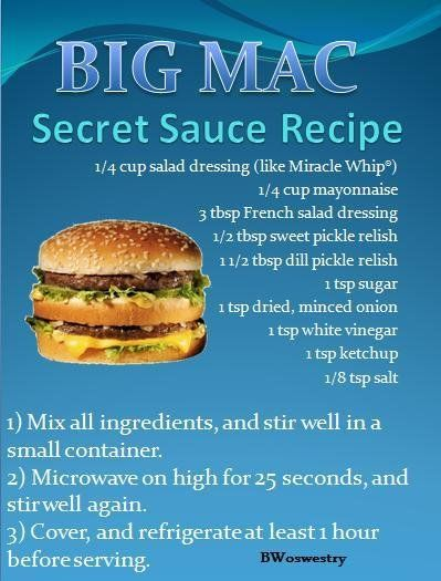 /ck/ - Essentials Archive: McDonald's Big Mac Sauce