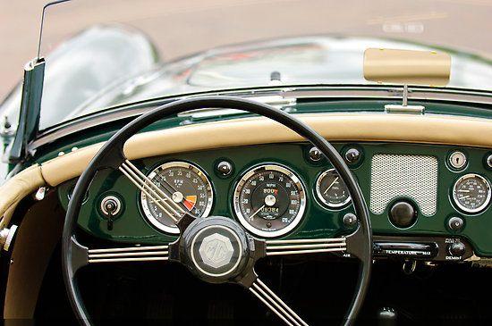 1959 MG A 1600 Roadster Steering Wheel