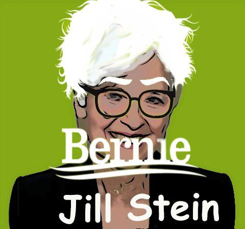 Jill Stein & Bernie Sanders Collaborating On A Political Revolution Would Be A Socialist Dream Come True #JillBeforeHill #BernieorJill #ifNotBernieThenJill #BernFirstGreenSecond http://www.bustle.com/articles/157574-jill-stein-bernie-sanders-collaborating-on-a-political-revolution-would-be-a-socialist-dream-come