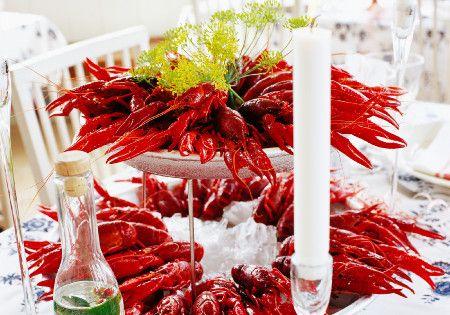 Swedish Crayfish Feast in August