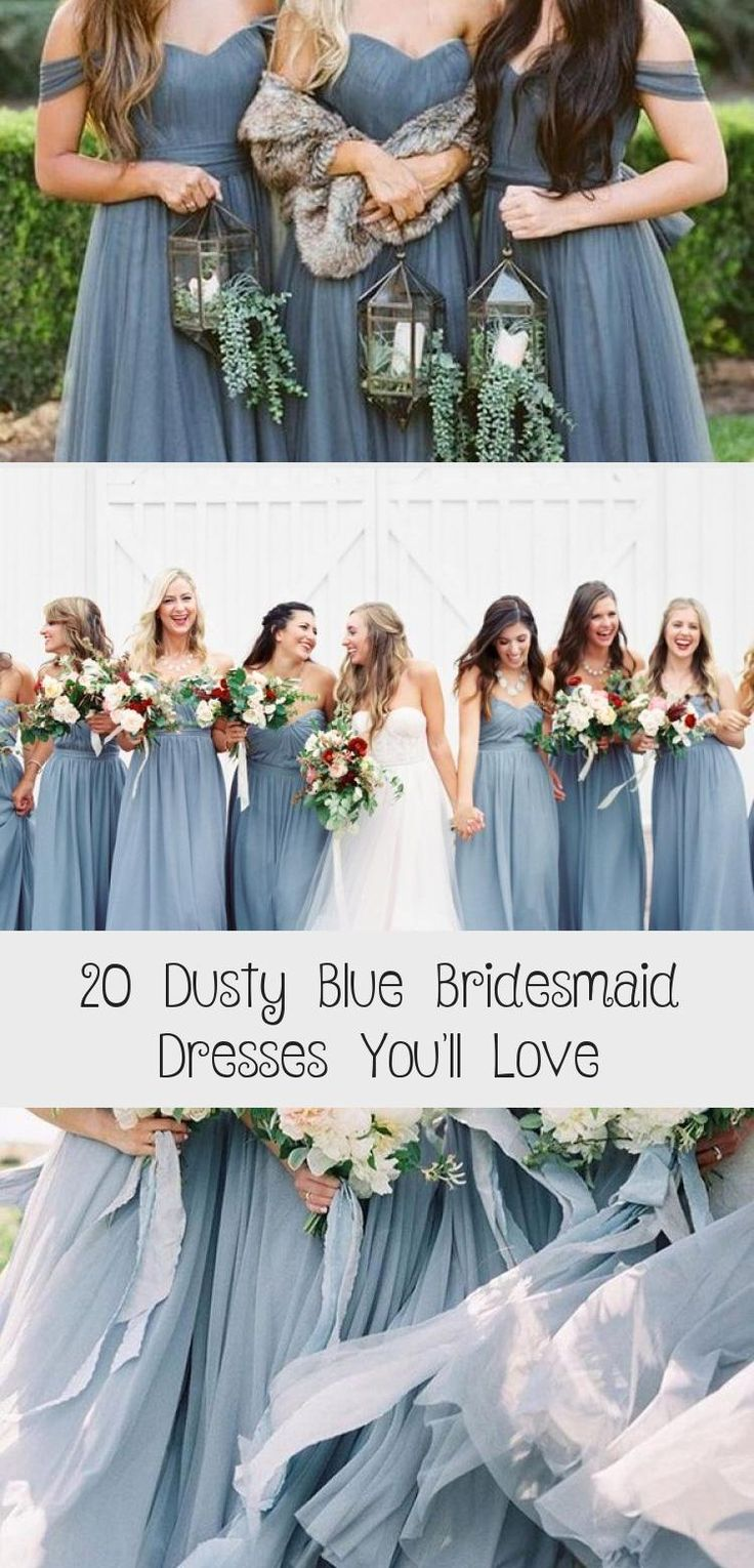 dusty blue wedding color ideas - dusty blue bridesmaid dresses  #weddings #wedding #blueweddings #weddingcolors #weddingideas #dustyblue #beautiful #dresses #bridesmaid #RedBridesmaidDresses #BridesmaidDressesWithSleeves #LavenderBridesmaidDresses #BridesmaidDressesSpring #BridesmaidDressesHijab