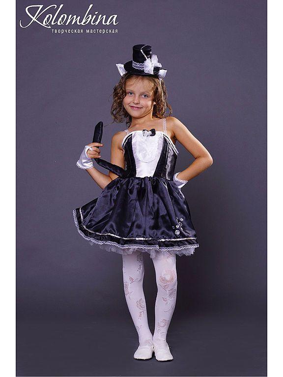 Купить карнавальный костюм кошки чёрный - чёрный, костюм кошки, кошка, карнавальные костюмы