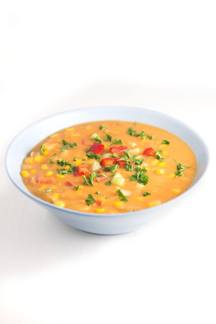 Sopa de maíz - Esta sopa de maíz es nuestra versión de una receta típica de…                                                                                                                                                                                 Más
