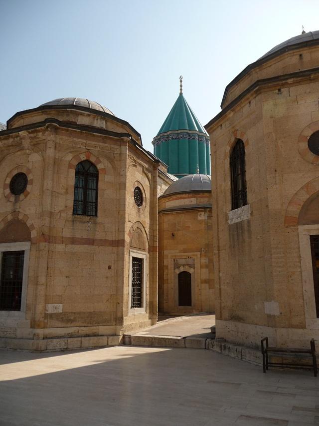 Rumi shrine, Konya