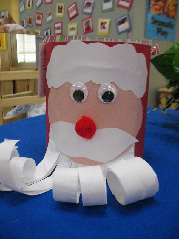 cute xmas crafts and easy learning for S