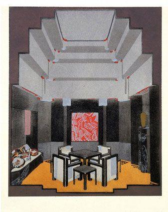 138 besten Art Deco Interiors Bilder auf Pinterest | Art-Deco ...