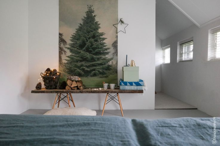 Christmas in our bedroom!  Christmas2016/Kerst2016