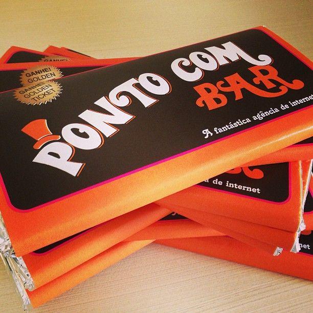 Chocolate Personalizado para empresa