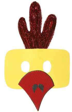 Chicken Mask for kids to make