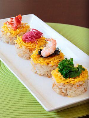 【ELLE a table】ちらし寿司レシピ|エル・オンライン