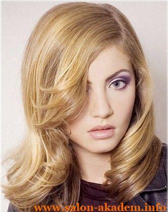 """Стрижка каскад на тонкие вьющиеся волосы #Фото  Вернуться в раздел """"Прическа каскад на вьющиеся и волнистые волосы""""    http://www.salon-akadem.info/strizhka-kaskad-na-tonkie-vyushhiesya-volosy.php"""