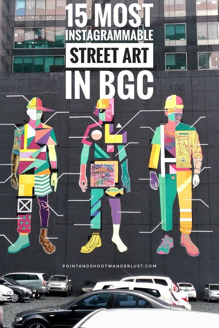 Instagram-worthy Street Art in Bonifacio High Street, Taguig City, Metro Manila, Philippines